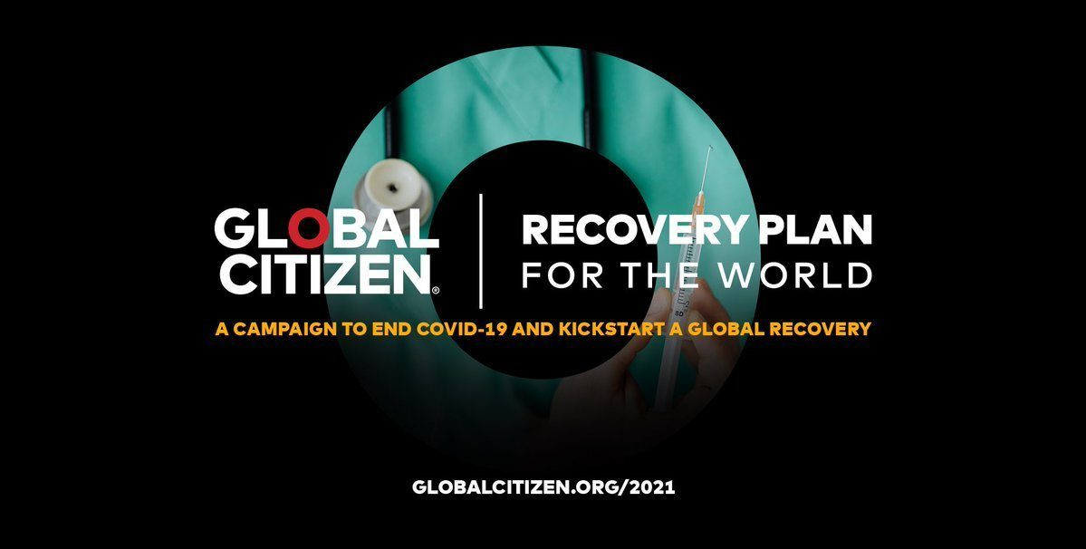 """WHO Leader Launches Global Citizen's """"Recover Better Together"""" Campaign"""
