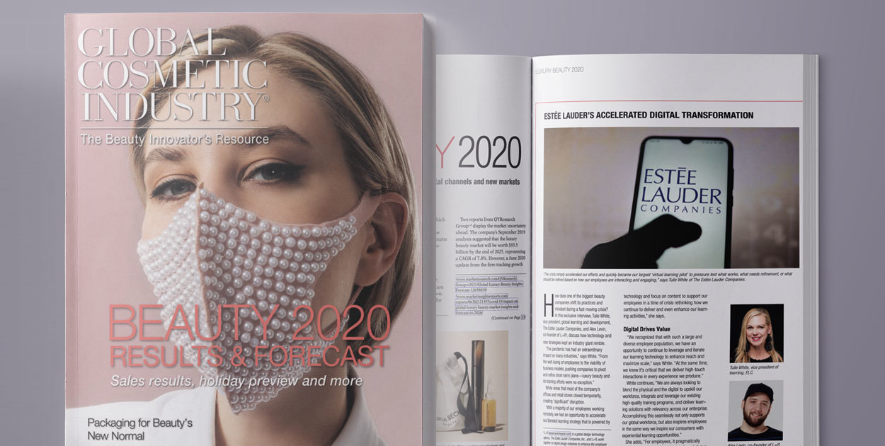 L+R Featured with the Estée Lauder Companies in Global Cosmetics Industry